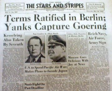 Yanks capture Goering
