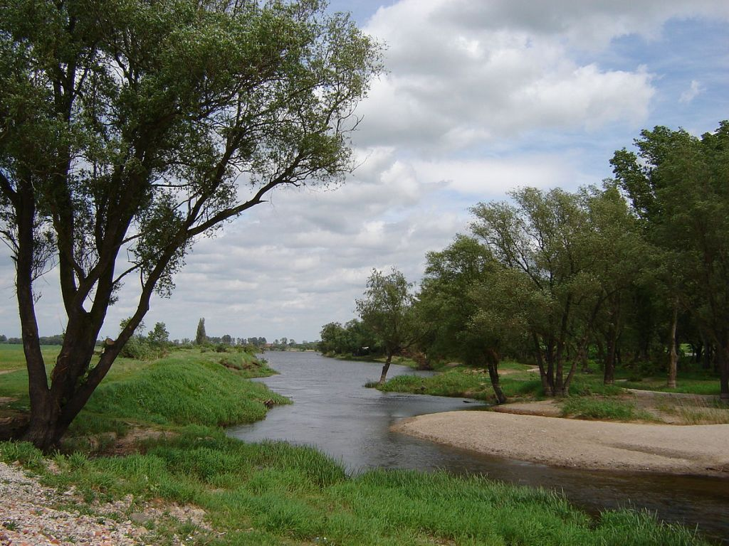 The Bierderitz river where Hitler's ashes were disposed.