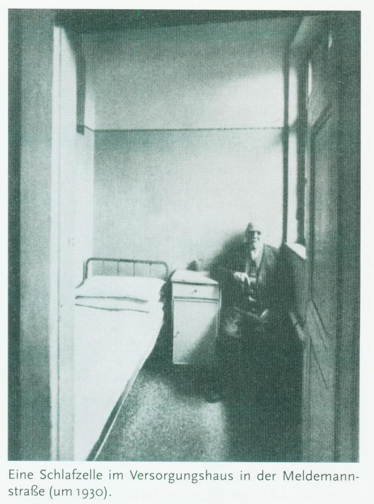 A room in Mannerheim hostel, similar to Hitler's  between 1910 - 1913